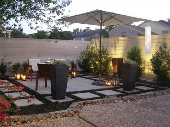 Decorating the Outdoors with Brilliant Courtyard Designs7