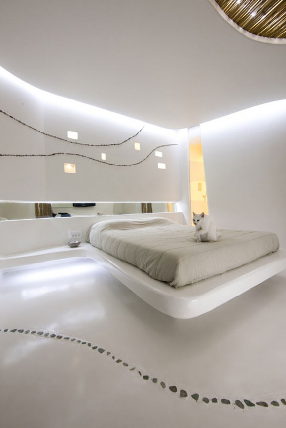 Give your Home a Unique Elegance with Modern Floating Bed Designs1