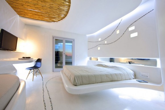 Give your Home a Unique Elegance with Modern Floating Bed Designs16