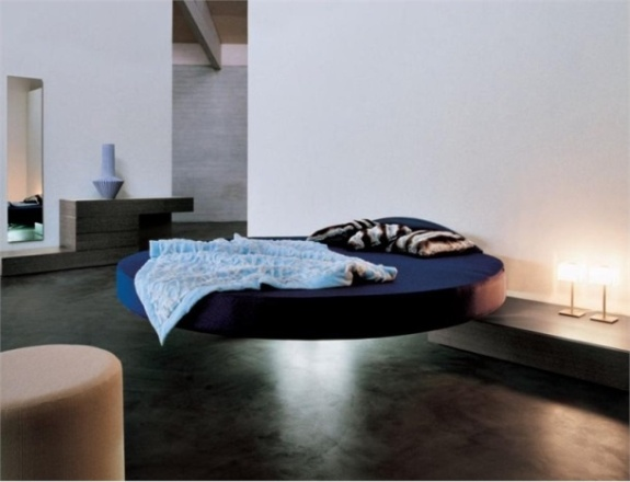 Give your Home a Unique Elegance with Modern Floating Bed Designs2