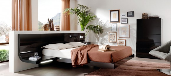 Give your Home a Unique Elegance with Modern Floating Bed Designs7