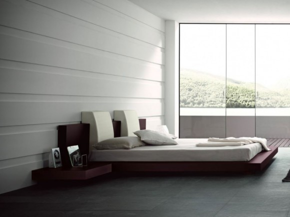 Give your Home a Unique Elegance with Modern Floating Bed Designs8