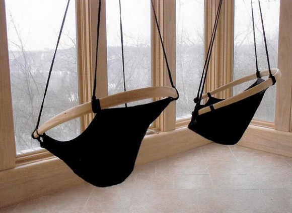 Just Hang Around with a Creative Hanging Chair4