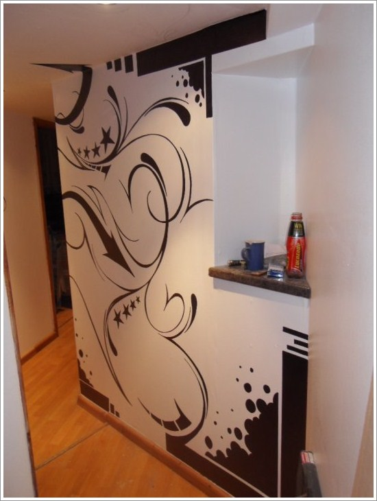 Light up Your Walls with Creative Graffiti Decor12