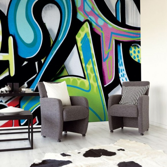 Light up Your Walls with Creative Graffiti Decor14