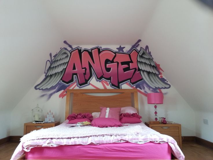 Light Up Your Walls With Creative Graffiti Decor3