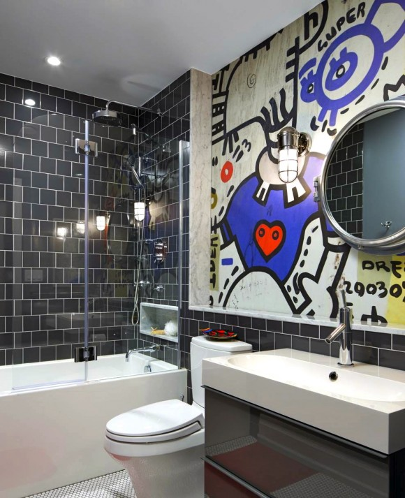 Light up Your Walls with Creative Graffiti Decor9