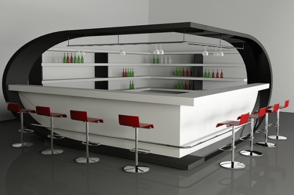Unadulterated Luxury with your Very Own Home Bar6