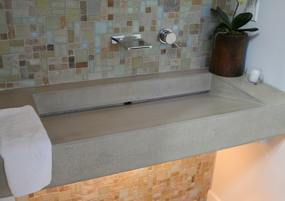 9 Smart Concrete Sink Ideas for the Home17