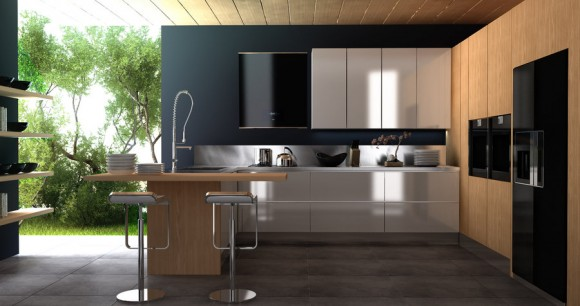 Functional and Aesthetic Kitchen Cabinet Designs10