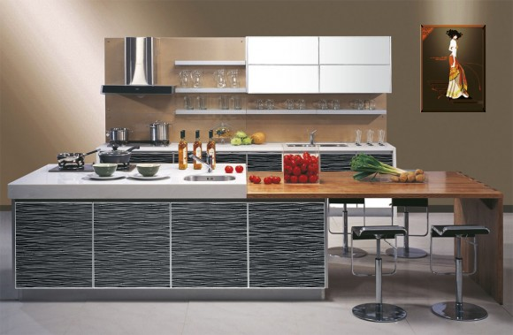 Functional and Aesthetic Kitchen Cabinet Designs13