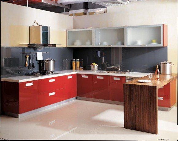 Functional and Aesthetic Kitchen Cabinet Designs15