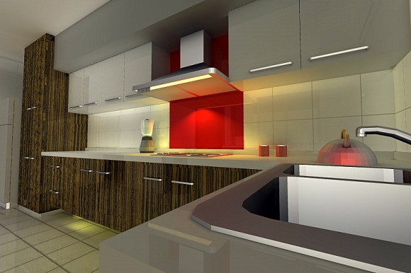 Functional and Aesthetic Kitchen Cabinet Designs16