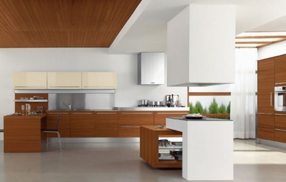 Functional and Aesthetic Kitchen Cabinet Designs4