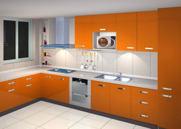 Functional and Aesthetic Kitchen Cabinet Designs8
