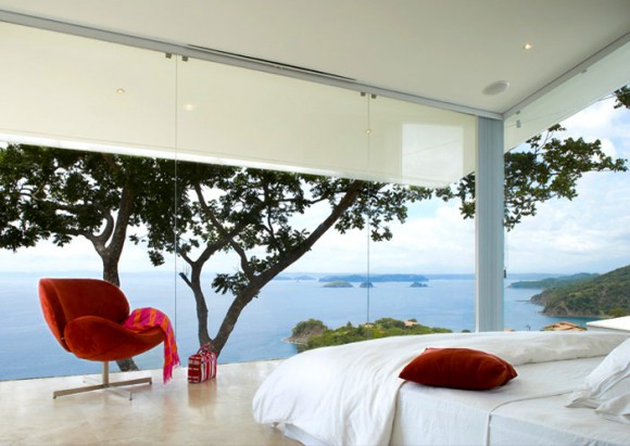 Invite the Mystical Ambience of Glass Walls in your Bedroom17