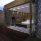 Invite the Mystical Ambience of Glass Walls in your Bedroom6