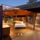 Invite the Mystical Ambience of Glass Walls in your Bedroom7