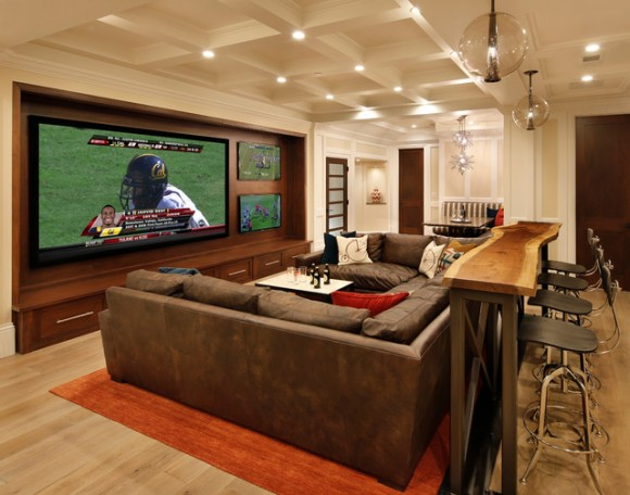 Discover Impeccable Luxury with Modern Home Theater Ideas15