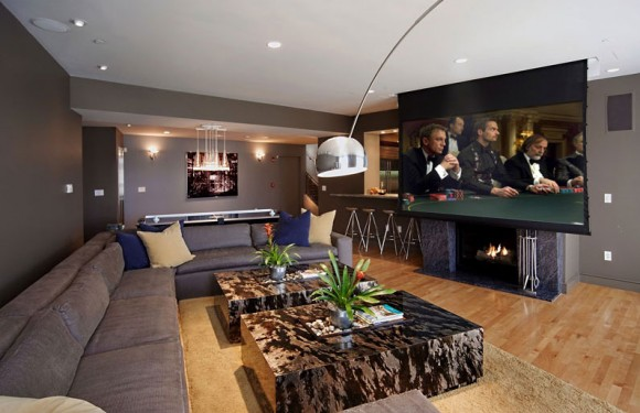 Discover Impeccable Luxury with Modern Home Theater Ideas17