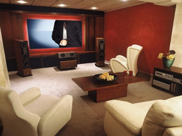 Discover Impeccable Luxury with Modern Home Theater Ideas4