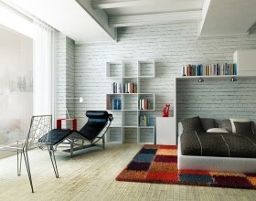 Invite the Earthy Ambience of Brick Walls into your Home1