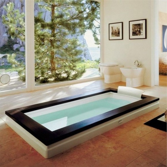 Sunken Bathtub Designs for the Modern Home17