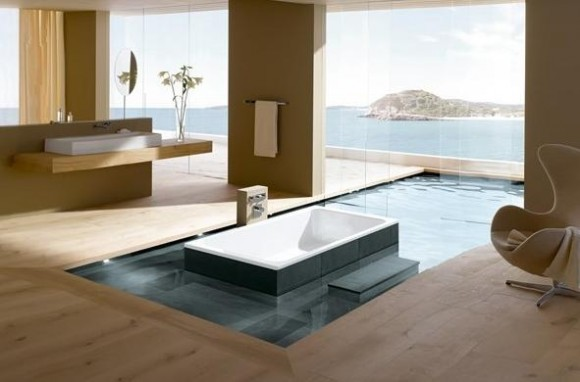 Sunken Bathtub Designs for the Modern Home2