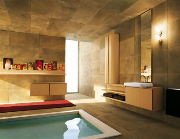 Sunken Bathtub Designs for the Modern Home7