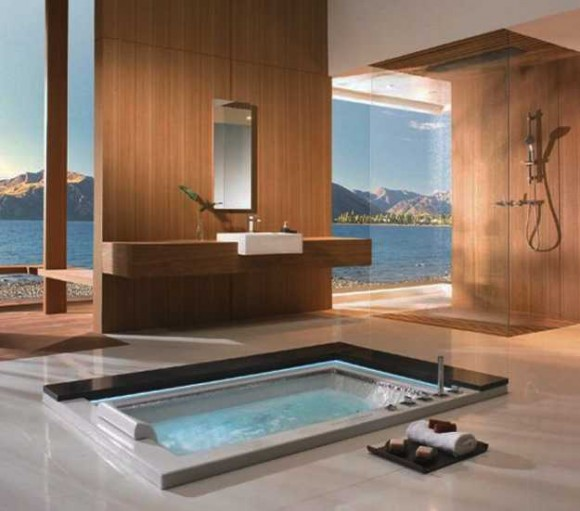 Sunken Bathtub Designs for the Modern Home8