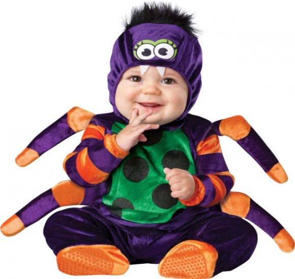 InCharacter Unisex-baby Newborn Spider Costume