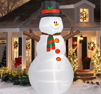 Christmas lawn Inflatables4