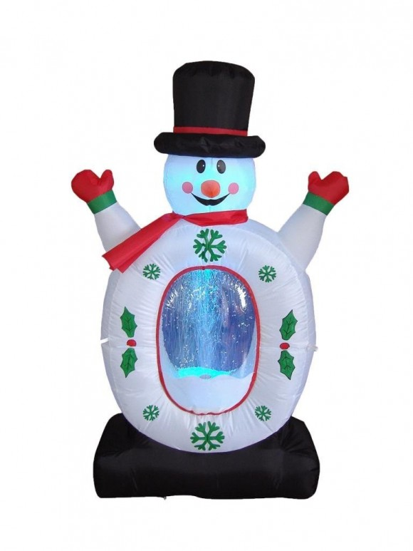 Christmas lawn Inflatables5