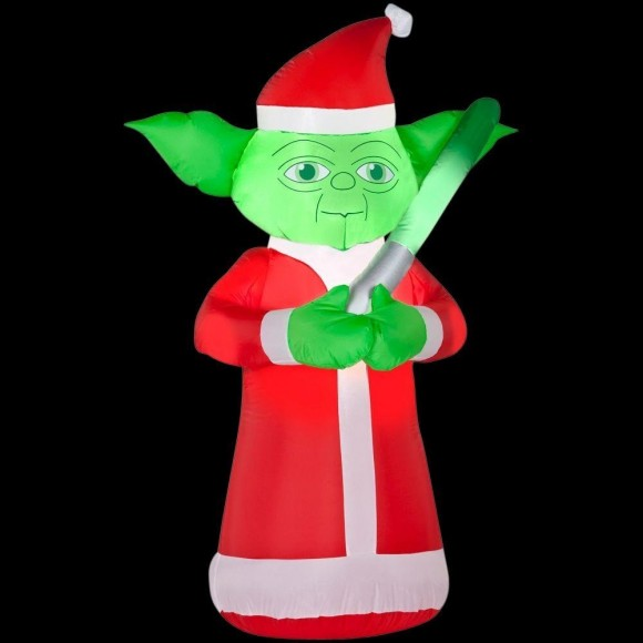 Christmas lawn inflatables for Home depot inflatable christmas decorations