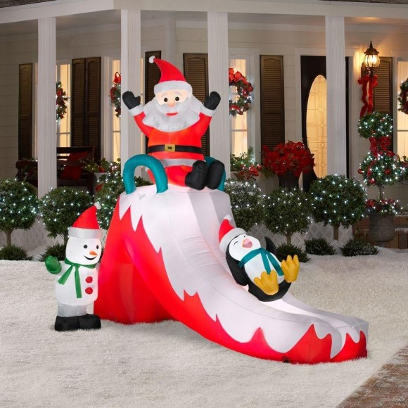 Christmas lawn Inflatables7