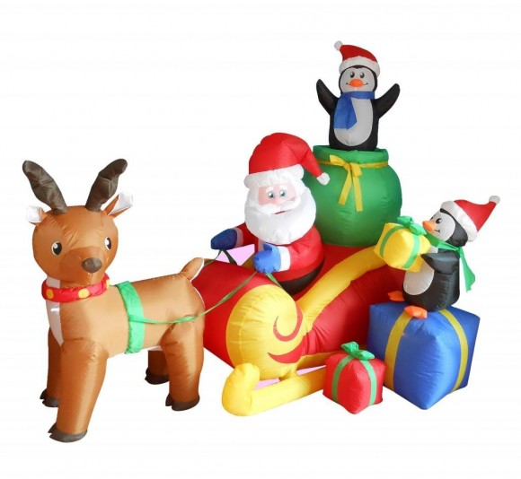 Christmas lawn Inflatables8