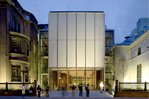 Best public space Morgan Library extension